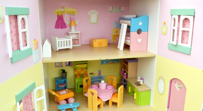 Doll's house interior